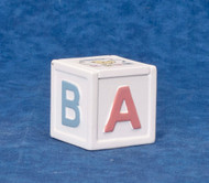 Dollhouse City - Dollhouse Miniatures ABC Toybox - White