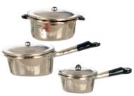 Pots Set - Aluminum