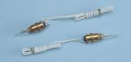 Dollhouse City - Dollhouse Miniatures Screw-Base Sockets - Candleflame Bulb