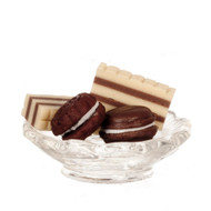 Two Wafers and Chocolate Cookies