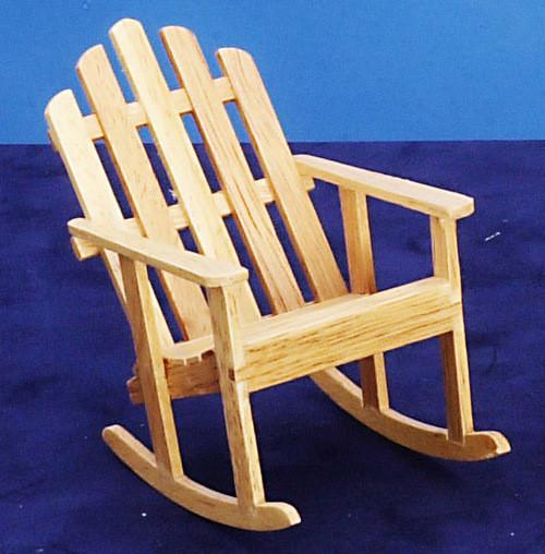 Adirondack Table - Oak