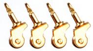 Caster Set - Brass
