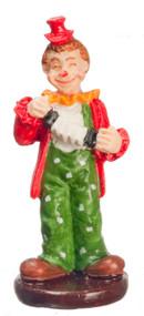 Dollhouse City - Dollhouse Miniatures Clown Accordion