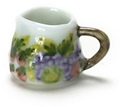 Dollhouse City - Dollhouse Miniatures Porcelain Spring Pitcher Set