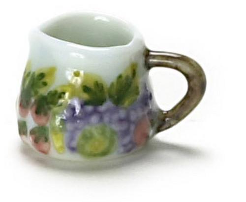 Dollhouse City - Dollhouse Miniatures Porcelain Spring Pitcher Set