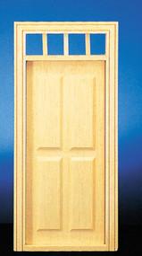 Dollhouse City - Dollhouse Miniatures 4-Panel Prehung Door