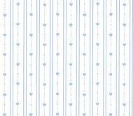 Wallpaper Bearly Hearts Set - Light Blue