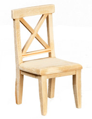Cross Buck Chair - Unfinished
