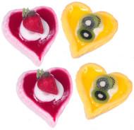Dollhouse City - Dollhouse Miniatures Heart Tart - Large and Assorted