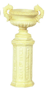 Ancient with Base Urn - Ivory