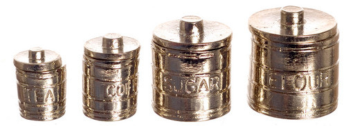 Engraved Canister Set