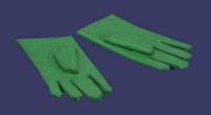 Dollhouse City - Dollhouse Miniatures 1 Pair of Gloves - Green