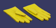 Dollhouse City - Dollhouse Miniatures 1 Pair of Gloves - Yellow