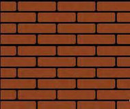 Brick and Red on Black