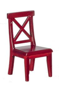 Cross Buck Chair - Mahogany