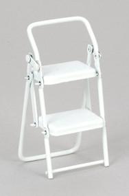 Ladder Stool - White