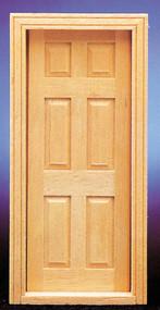 Dollhouse City - Dollhouse Miniatures 6-Panel Door