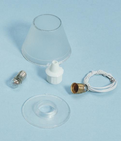 Dollhouse City - Dollhouse Miniatures Lamp Shade Kit - Plain