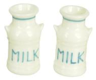 Dollhouse City - Dollhouse Miniatures Milk Cans Set