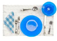 Place Setting - Cobalt Blue