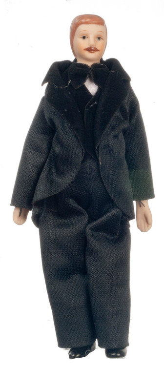 Porcelain Father Doll