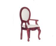 Armchair - Ivory Stripe