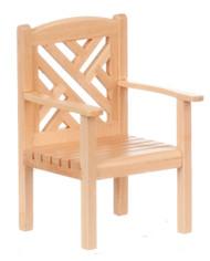 Garden Chair - Oak