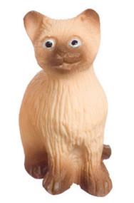 Dollhouse City - Dollhouse Miniatures Sitting Cat - Siamese