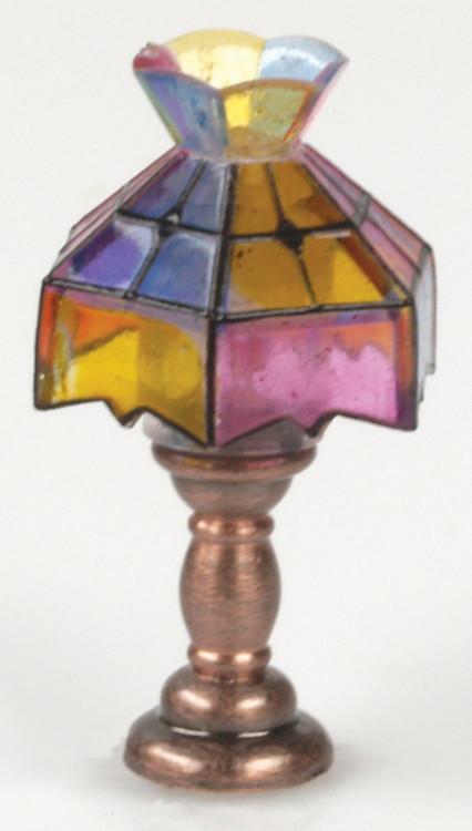 Crown Tiffany Lamp