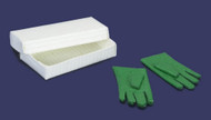 Dollhouse City - Dollhouse Miniatures 1 Pair of Gloves with Box