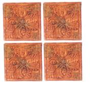 Dollhouse City - Dollhouse Miniatures Floor Tile Amaryllis Set - Aged