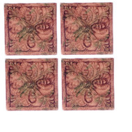 Dollhouse City - Dollhouse Miniatures Floor Tile Amaryllis Set - Gray Ancient