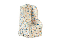 Chair - Floral Fabric