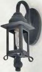 Black Coach Lamp Sconce