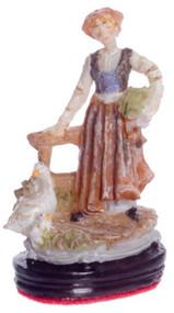 Dollhouse City - Dollhouse Miniatures Farm Girl