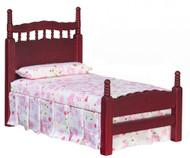 Single Bed - Mahogany