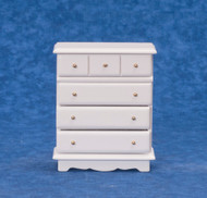Dollhouse City - Dollhouse Miniatures Chest - White