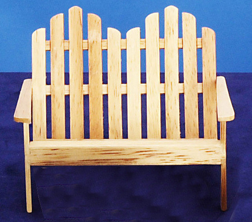 Adirondack Double Chair - Oak