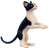 Dollhouse City - Dollhouse Miniatures Cat with Socks