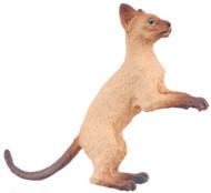 Dollhouse City - Dollhouse Miniatures Cat - Siamese Brown