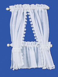 Cabin Curtains Set - White