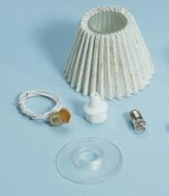 Dollhouse City - Dollhouse Miniatures Lamp Shade Kit - Pleated