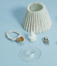 Dollhouse City - Dollhouse Miniatures Lamp Shade Kit - Pleated