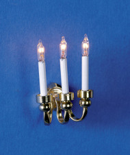 Dollhouse City - Dollhouse Miniatures Dual Candle Grand Sconce