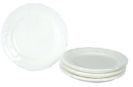 Dollhouse City - Dollhouse Miniatures Dinner Plates Set - Style Q