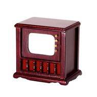 TV Set - Mahogany