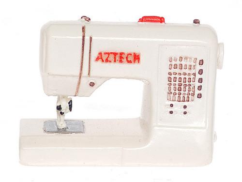 Modern Sewing Machine - White