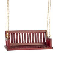 Porch Swing - Red