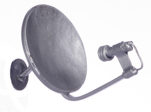 Small Satellite Dish - Silver