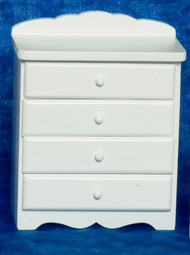 4-Drawer Chest - White
